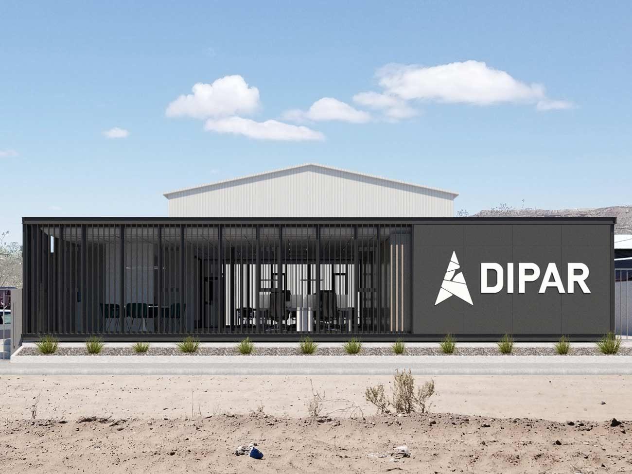Oficinas metalicas construccion rapida parque industrial neuquen